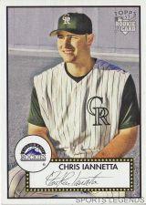 Buy 2006 Topps 52 Style #204 Chri Iannetta