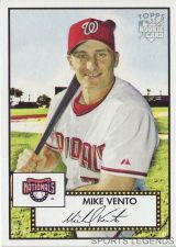 Buy 2006 Topps 52 Style #205 Mike Vento