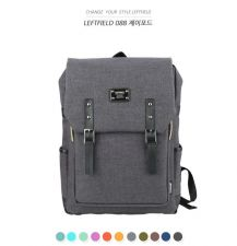 Buy Korea LEFTFIELD candy-colored fashion school bag backpack