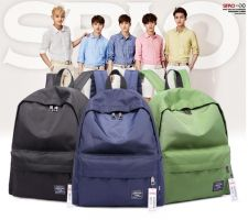 Buy korean candy color leisure travel rucksack school bag