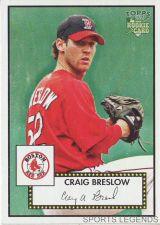 Buy 2006 Topps 52 Style #214 Craig Breslow
