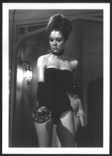 Buy ACTRESS DIANA RIGG IN BLACK BUSTIER LEATHER BOOTS REPRINT PHOTO 5X7 DR-1