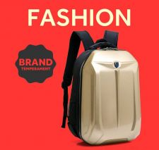 Buy Large-capacity PC hard shell business waterproof backpack school bag