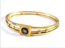 Buy Antique 14 kt Biedermeier gold bracelet with diamonds 0.20 kt