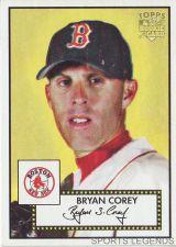 Buy 2006 Topps 52 Style #218 Bryan Corey