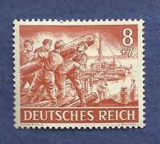 Buy Nazi Germany Third Reich 1943 Nazi Soldiers Labors 8+7 Stamp MNH HISTORIC WWII Era