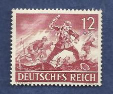 Buy Nazi Germany POST Third 3rd Reich WWII Era Wehrmacht Attack Postage Stamp MNH 1943
