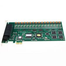 Buy PCIE PCI Express 16 channel Line Phone Telephone lines Conversation Recording Card
