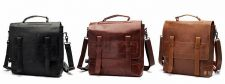 Buy Men's leather multifunction handbag shoulder bag Messenger bag backpack