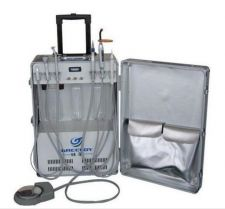 Buy Dental Ultrasonic Scaler LED Curing light Portable Unit w/ Air Compressor 2/4H