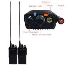 Buy 2X Walkie Talkie LEIXEN-NOTE UHF 400 480MHz 20W 16CH VOX Scan TOT Two Way Radio