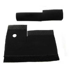 Buy Cycling MTB Bike Bicycle Front Fork Protector Pad Wrap Cover Set Black