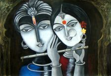 Buy Divine Soul Mates Krishna and Radha
