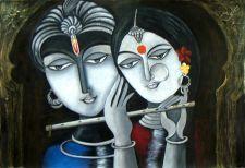 Buy Divine Soul Mates Krishna and Radha