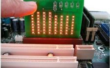 Buy Desktop Test Video Display AGP Slot Tester card MOTHERBOARD TESTER PROFESSIONAL TOOL