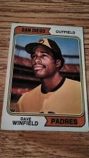 Buy 1974 TOPPS DAVE WINFIELD RC