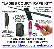 Buy LADIES COURT-ANTI-RAPE KIT - ADVANCED TYPE- TOP QUALITY
