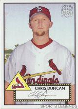 Buy 2006 Topps 52 Style #233 Chris Duncan