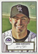 Buy 2006 Topps 52 Style #235 Mike Esposito
