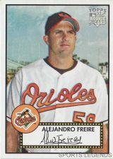 Buy 2006 Topps 52 Style #239 Alejandro Freire