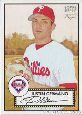 Buy 2006 Topps 52 Style #243 Justin Germano
