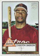 Buy 2006 Topps 52 Style #258 Charlton Jimerson