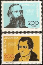 Buy Argentina: Scott no. 1229-1230 (1979) MNH Compete 2-value issue
