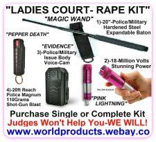 "Buy ""LADIES COURT-ANTI-RAPE KIT"" ADVANCED"
