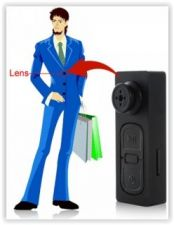 Buy BUTTON HOLE Pinhole SPY Camera Mini Multi-function with Video/Voice Recorder
