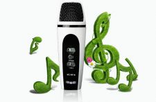Buy PC Live Apple Android mobile phones mini microphone speaker