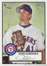 Buy 2006 Topps 52 Style #263 John Koronka