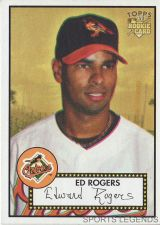 Buy 2006 Topps 52 Style #284 Ed Rogers