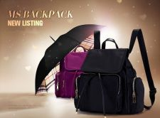 Buy Female nylon canvas bag Mummy bags backpack