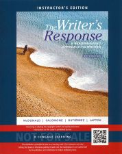 Buy NEW -The Writer's Response: A Reading-Based Approach to Writing 6th INSTRUCTOR'S