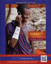 Buy (NEW) Humanity: An Introduction to Cultural Anthropology 10th INSTRUCTORS EDITIO