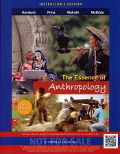 Buy (NEW) The Essence of Anthropology 3rd INSTRUCTOR'S EDITION Haviland 2013