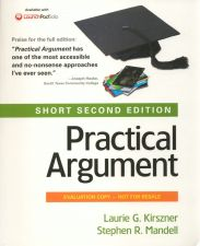 Buy (LIKE NEW) Practical Argument Short 2nd Edition INSTRUCTOR'S EVALUATION second