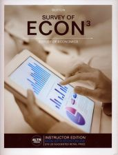 Buy Survey of Econ 3 INSTRUCTOR'S EDITION --(NO ACCESS CODE) Robert L. Sexton