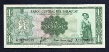 Buy Paraguay 1 Guarani 1952 Banknote A18798935 - Withdrawn Circulation