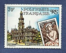 Buy French Polynesia: 1980 Sydpex EXPO MNH ISSUE Airmail Stamp