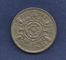 Buy Great Britain (England) Two Shillings (Florin) 1963