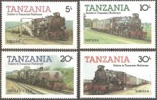 Buy Tanzania: Scott No. 271-274 (1985) MNH Complete 4-value set