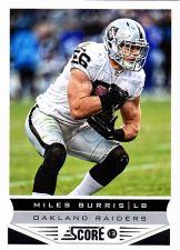 Buy Miles Burris - Raiders 2013 Score Football Trading Card #157