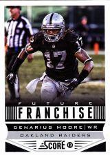 Buy Denarius Moore #321 - Raiders 2013 Score Football Trading Card