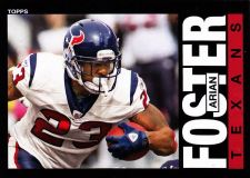 Buy Arian Foster #100 - Texans 2013 Topps Archives Football Trading Card