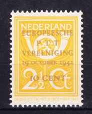 Buy Netherlands 244 Overp. European PTT Congress mnh 1942