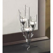 Buy CRYSTAL TREE TEALIGHT HOLDER
