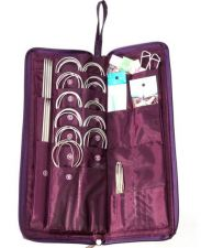 Buy 104 pieces crochet knitting needles set