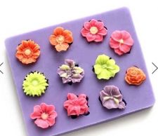 Buy fashion flower silicon mould