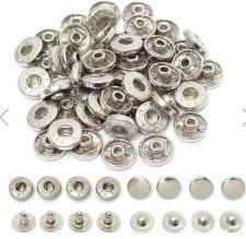 Buy 50 pieces snap buttons,metal